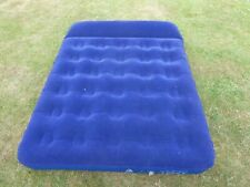 EUROHIKE DOUBLE FLOCKED INFLATABLE AIRBED/MATTRESS USED ONCE