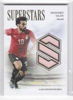 2020 Mohamed Salah /34 Jersey Futera Unique Superstars Game Used Memorabilia