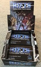 20 SEALED Rifts Collectible Card Game BOOSTER Packs PDN 90004 by Precedence RARE