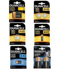 Pila Marca Duracell Pack pilas bateria original en blister Elige Modelo