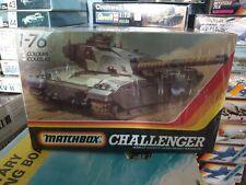 Vintage Matchbox Challenger Sealed UK Battle Tank 1/76 Scale Model Kit