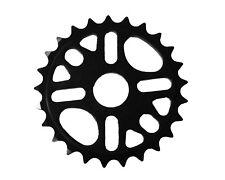 Disturbed BMX Chainring / Chainwheel 25th Alloy 1/2 x 1/8 Black CNC