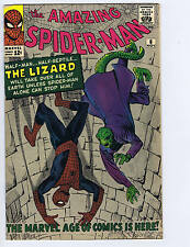 Amazing Spider-Man #6 Marvel Pub 1963 1st app.Lizard