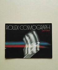 BOOKLET ROLEX COSMOGRAPH DAYTONA ANNO 1982 USA