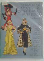 Glamorous Movie Stars of the Thirties Paper Dolls Book ~ Uncut ~ Vintage 1978