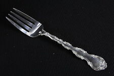 """Gorham Strasbourg Sterling Silver Solid Serving Fork New Mark 82.5 Gram 8 1/2"""""""