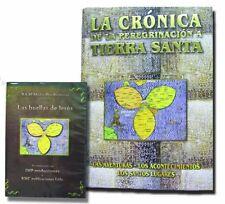La Cronica De La Peregrinacion a Tierra Santa & Las Huellas De Jesus DVD,Spanish
