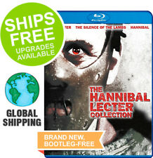 Manhunter / Silence of the Lambs / Hannibal (Blu-Ray 2011) NEW Lecter Collection