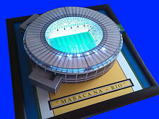 MARACANA STADIUM-RIO-Brasile realizzata a mano modello Stadium con lavoro FLOODLIGHTS