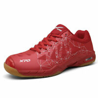 Mens Table Tennis Sneakers Classic Blue/Red Tennis Shoes Sports Badminton Shoes