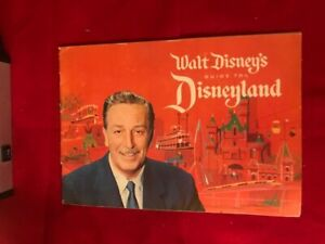 WALT DISNEY'S GUIDE TO DISNEYLAND 1961 BOOKLET