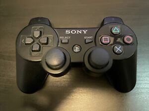 OEM Sony PlayStation 3 PS3 DualShock 3 Black UNTESTED FOR PARTS