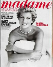 MADAME FIGARO 15/12/1990 DIANA SUPERSTAR, MODE DECO CUISINE SUR UN AIR DE MOZART