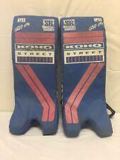 Koho Street Revolution 6P33 Goalie Leg Pads Vintage Throwback inline