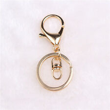 Lobster Claw Spange Trigger Clip Split Ring mit Kette 8~