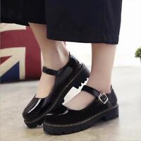 Cosplay Lolita Girl's Students Pumps Women Shoes Mary Jane Block Heels Buckle