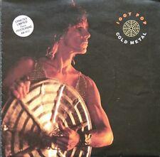"Iggy Pop - Cold Metal/Instinct 7"" Poster Sleeve Ex. Cond The Stooges Steve Jones"