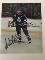 Wendel Clark Toronto Maple Leafs Autographed Signed 8x10 Photo