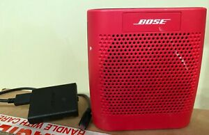 Bose Soundlink Color 415859 Red Series Working Bose Sound W Usb Cable SEE DESCPT