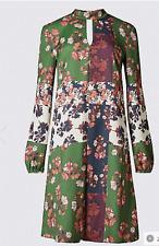 M&S COLLECTION Patchwork Dress Size UK20/EUR48 Regular BNWT