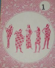 Vintage 5020 Patterns Pacifica Womens Tahiti Pareu wrap Dress 5 Tie instructions