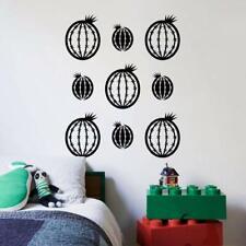 Round Cactus Desert Plant Home Room Wall Sticker Vinyl Art Decal Decor Kids