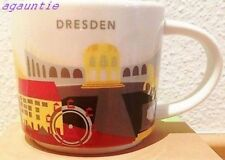 New Starbucks You Are Here Coffee Cup Dresden (Germany City) Mug 14oz. US Seller