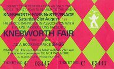 Knebworth TICKET Fair, Rolling Stones, Lynyrd Skynyrd, Hot Tuna +, 21.08.1976