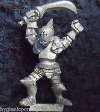 1985 Chaos Thug 0213 05 F5 Kraan Headcleaver Citadel Warhammer Army Marauder D&D