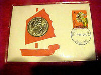 1973 #292 99 COMPANY FIRST DAY FIRST ISSUE SINGAPORE DOLLAR NATION SYMBOL LION