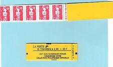 Briat  2,30 F -Carnet 2614 C7a  daté du 1 er et du 2 MAI  1990 - erreur de date