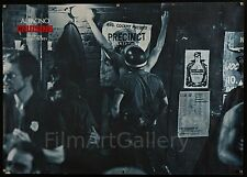 "CRUISING 1980 rare 33""x47"" film poster Cool Gay leather bar image filmartgallery"