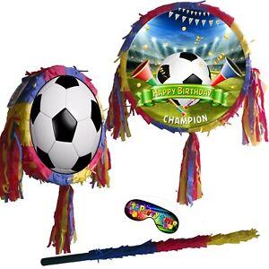 Football Pinata Birthday Party Champions Soccer premier fútbol Fußball league UK