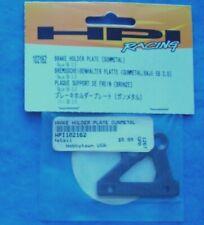 GENUINE HPI 102162 BRAKE HOLDER PLATE GUN METAL BAJA 5B 2.0 NIP