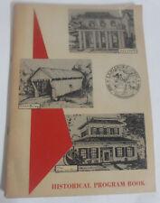 Lewisburg Ohio History Book 1968