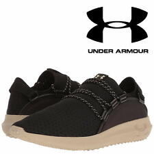 Under Armour Rail Fit Men's Black Running Trainers Lightweight Sneakers