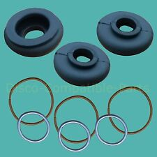 Land Rover Defender Track Rod End Ball Joint Rubber Boot Kit x 3