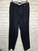 "Royal Mail blue work trousers size Waist 34"", Leg 33"""