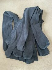 4 pairs of m&s grey tights age 7-8