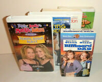 Mary-Kate and Ashley Olsen Twins Lot of 5 VHS Tapes Movies
