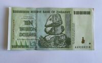 Zimbabwe 10 Trillion Dollars 2008 P-88 Banknotes in very fine condition