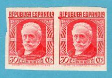 ESPAÑA 1936 EDIFIL 734s** PABLO IGLESIAS  PRECIO CATÁLOGO 49,00€ PAREJA