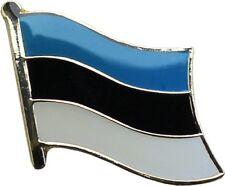 Wholesale Pack of 3 Estonia Country Flag Bike Hat Cap lapel Pin