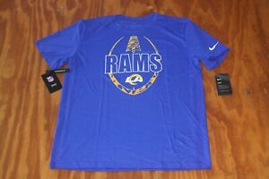 Los Angeles Rams Nike Dri-Fit T-Shirt NWT Retail $35