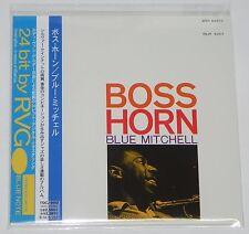 BLUE MITCHELL / Boss Horn JAPAN Mini LP BLUE NOTE CD w/OBI TOCJ-9562