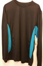 Nordictrack Men's Black Athletic Long Sleeve T-shirt New Sz XL (#2n