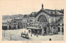 LIEGE - gare des Guillemins (tramway)
