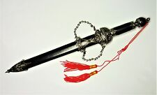 Collectible - Stainless Steel Blade, Sharper Short Sword with Scabbard & Tassles