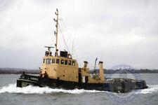Royal Maritime Auxiliary Tug Bustler A225-6x4 Photograph 10x15 RMAS