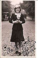 Ella Retford 30s Música Hall Leyenda FIRMADO ORIGINAL FOTO